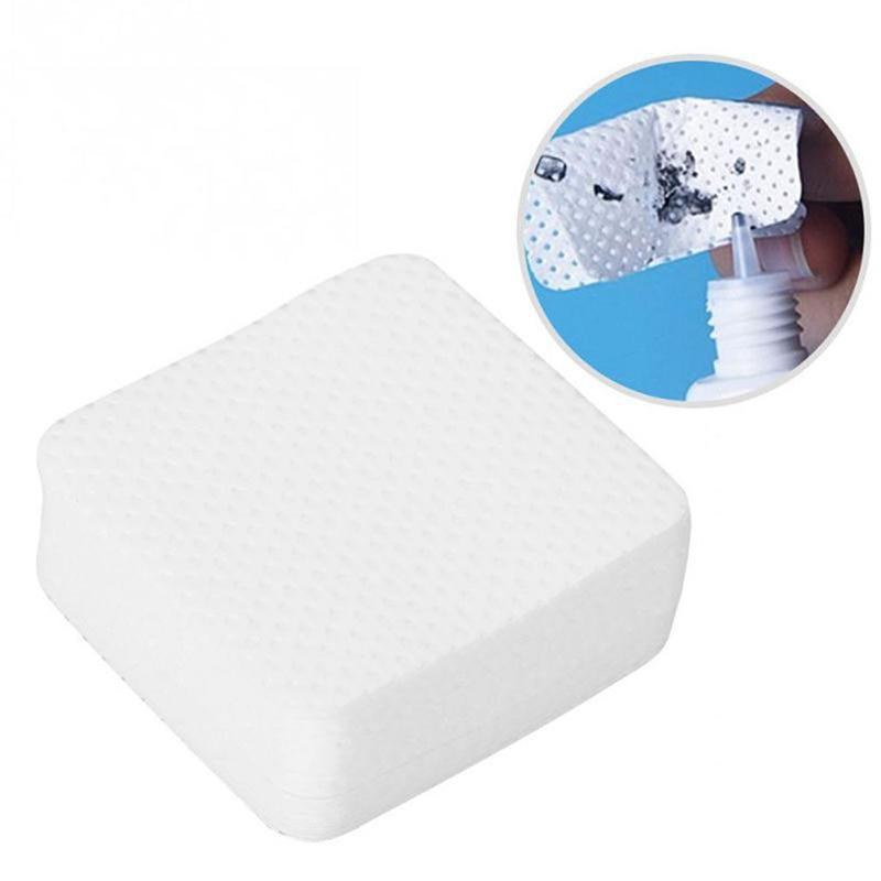 Высокое качество клей для ресниц Чистящая салфетка для удаления белый ватным тампоном клей горлышко бутылки салфетки чистящие средства