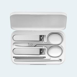Image 5 - Xiaomi Mijia Five Piece Nail Clipper Kit Elegant Lightweight Versatile Magnetic Store Box Portable High Quality Stainless Steel