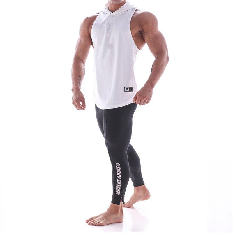 Camiseta sin mangas de entrenamiento para hombre, vestimenta deportiva sin mangas muscular, camiseta de moda, camisetas de cultu