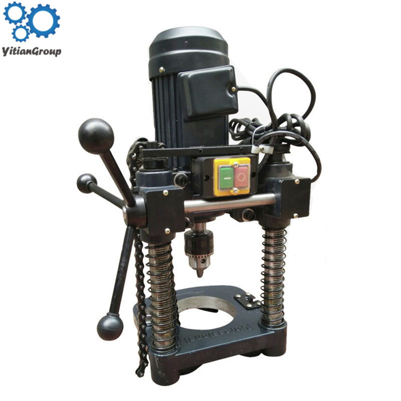 CNC Electric Hole-punch Machine Hole Puncher For Fire Galvanized Pipe Drilling Hole Double Spring Opening Machine GH-WFKKJ-ZW