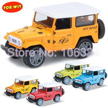 Die-cast Metal Jeep Model, Alloy Recovery Vehicles Toy, Simulation Off Road Car, Good