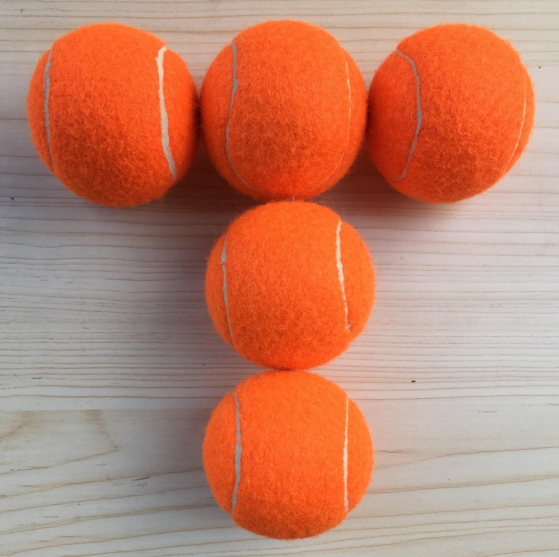 White Entertainment Orange Yellow Gray Blue Pink Rose-red Tennis Can Be Printed Logo10 PCs