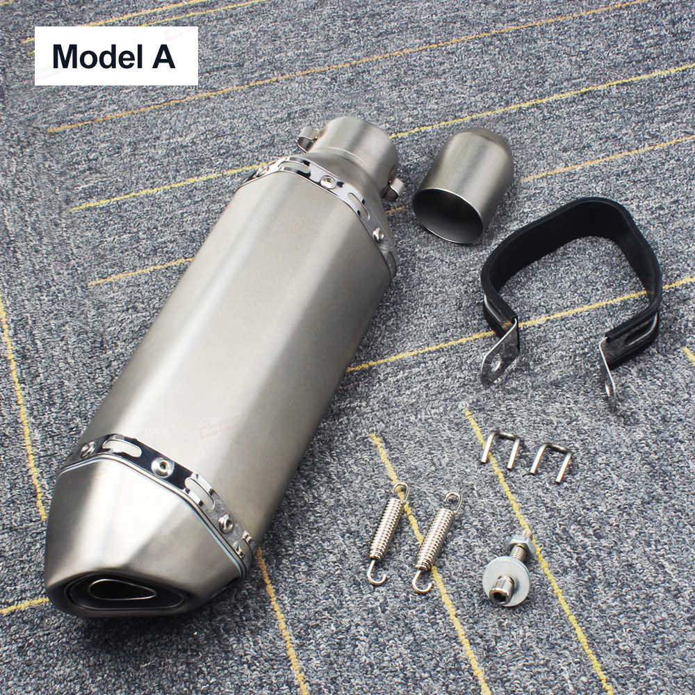 Universal Motorcycle Exhaust Pipe Akrapovic (7)