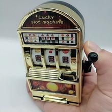 1pc mini máquina caça-níqueis bolso frutas sorte jackpot gadget criativo antiestresse brinquedos engraçados jogos brinquedos juguetes crianças brinquedos de aniversário