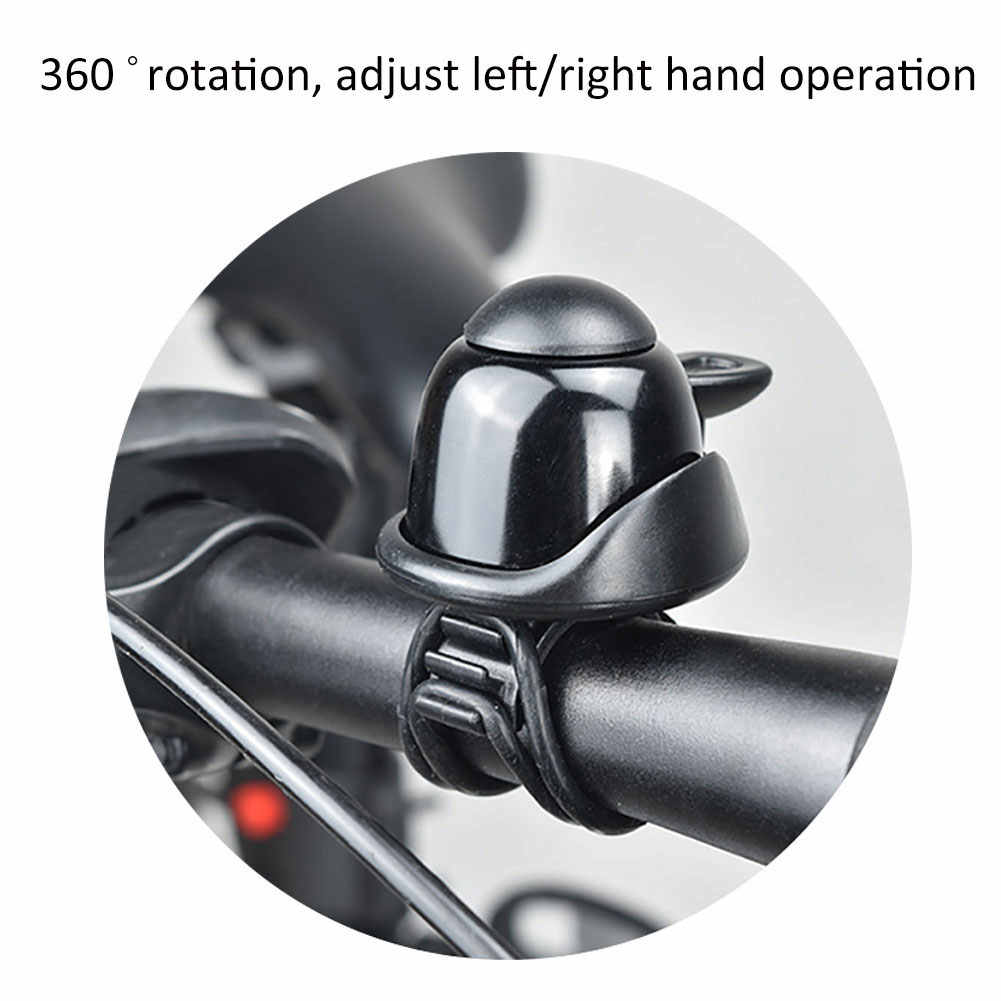 FM/_ Electric Scooter Bike Cycling Loud Sound Bell Alarm Handlebar Ring Horn Tool