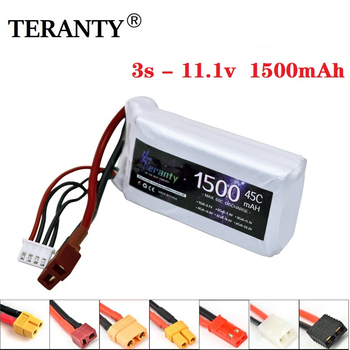 3S 11.1v 1500mAh LiPo Battery for Rc Car Helicopter Airplane 11.1 v Rechargeable Lipo Battery T/XT60/JST Plug For WLtoys V950 zeee lipo battery 11 1v 6000mah 60c 3s rechargeable drone battery deans plug xt60 connector 3s lipo for fpv rc car helicopter