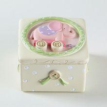 Дети Лиственные зубы новорожденных пуповины коробка для хранения Детские зубные коллекционные коробки сувенир AXYA