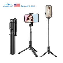 Captain HF Bluetooth Selfie Stick tripod Mini Selfie Stick Monopod Shutter Remote Extendable Mini Tripod iOS/Android стоимость