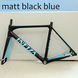 Yeni yüksek kalite 700c karbon çerçeve süper hafif iç kablo yol bisiklet iskeleti 51cm 52cm 54cm tam karbon bisiklet şasisi çatal