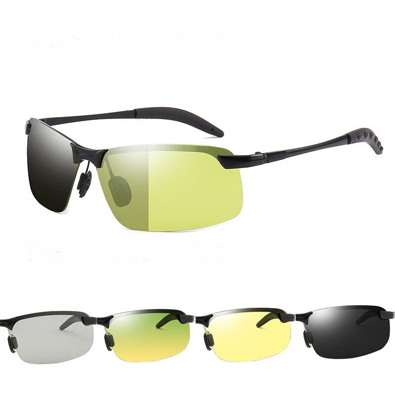Цветные зеркальные очки ночного видения, солнцезащитные очки, очки для вождения автомобиля, очки ночного видения с УФ-защитой