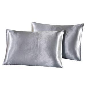 Image 3 - 4pcs יוקרה סט מצעי משי סאטן מלכת מלך גודל מיטת סט שמיכת שמיכת מצעי שמיכה עם ציפות ו מיטת גיליון