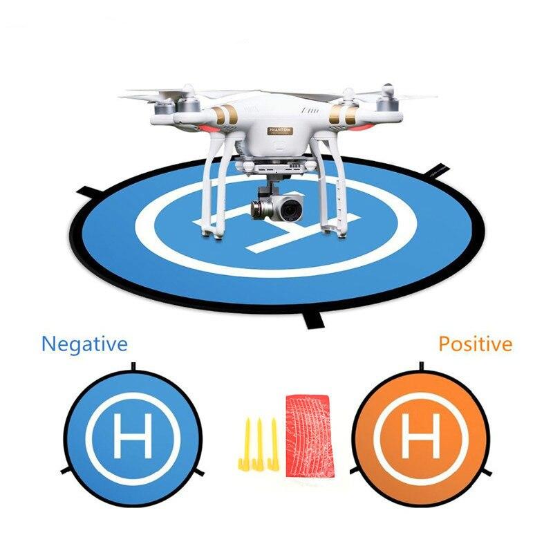 พับ Landing Pad สำหรับ DJI Mavic Pro Platinum 55 ซม.Drone ที่จอดรถผ้ากันเปื้อน Pad สำหรับ DJI Mavic Air Pro Phantom 4 อุปกรณ์เสริม