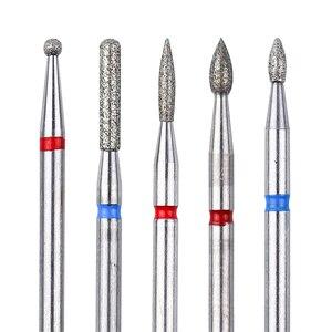 Image 3 - Алмазные фрезы для маникюра и педикюра, 6 шт., набор сверл для электрического маникюра и педикюра, инструменты для удаления геля