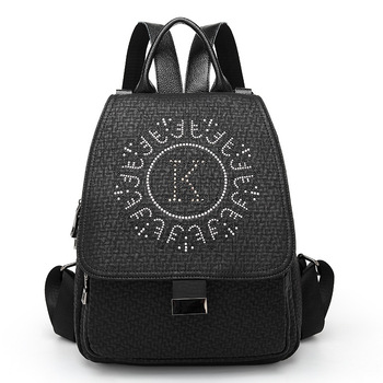 Real Leather Backpack 2020 New Fashion Dimond Women High Quality Backpack Women Shoulder Travel Mochila Small School Bags цена 2017