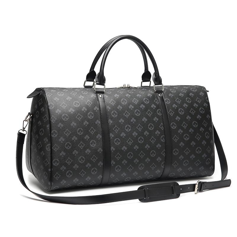 Sacos de viagem sacos de bagagem de mão dos homens mala duffle sacos de luxo famosa marca designer grande capacidade de viagem bolsas de ombro das mulheres