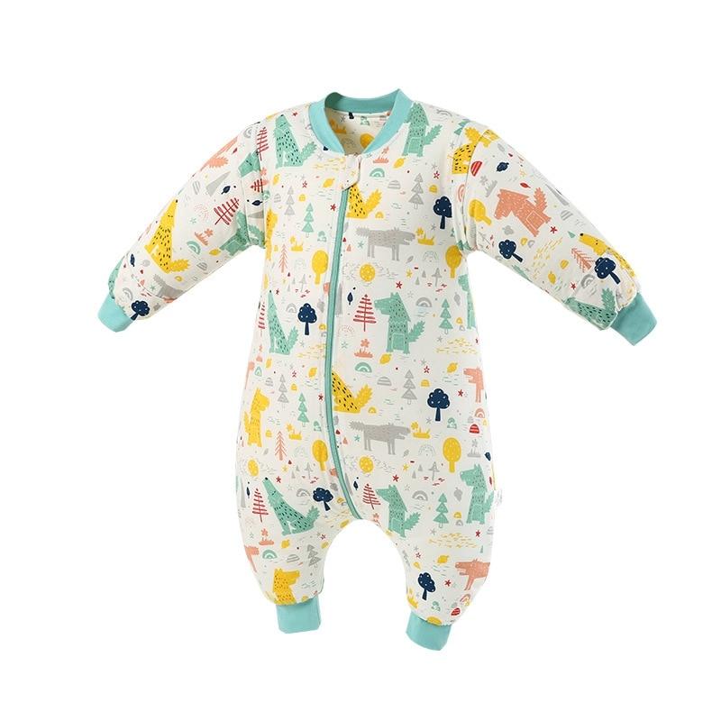 Thicken Winter Baby Infant Sleeping Bag Baby Wrap Swaddling Jumpsuits Sleepsack Spring Child Sleep Sack