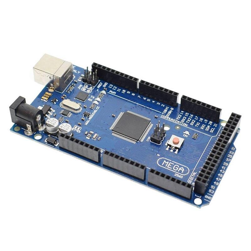 5PCS/LOT Mega 2560 R3 Board With USB Cable For Arduino R3 MEGA2560 MEGA 2560 R3 ATmega2560-16AU CH340G AVR USB Development Board