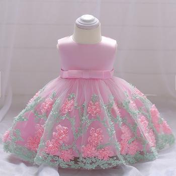 Sukienka dla dzieci księżniczka sukienka dla dziewczynki kwiat sukienka z ciasta netto sukienka koronkowa spódnica tutu z kokardą do kąpieli dla niemowlaka sukienka pierwsza sukienka urodzinowa sukienka tanie i dobre opinie KEAIYOUHUO W wieku 0-6m 7-12m 13-24m 25-36m Stałe CN (pochodzenie) Kobiet Bez rękawów REGULAR Śliczne Łuk Pasuje prawda na wymiar weź swój normalny rozmiar