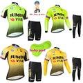 2020 Jumbo Visma  комплекты из джерси с короткими рукавами для мальчиков и девочек  для велоспорта  MTB Ropa Ciclismo  детские короткие штаны и длинные дыша...