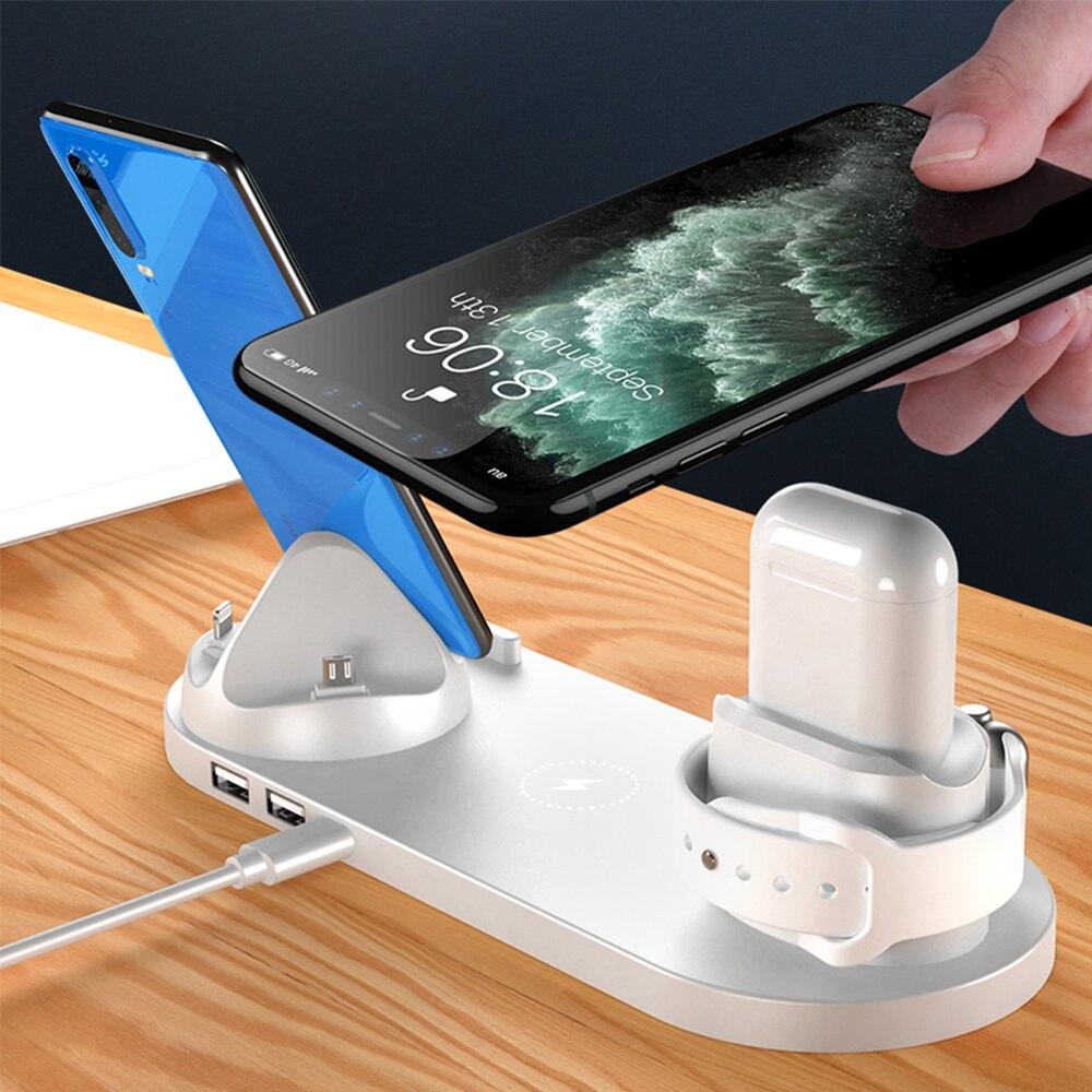 de carregamento ajustável para apple watch 6