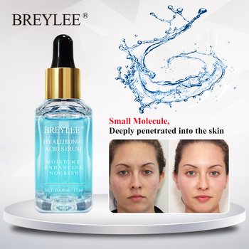BREYLEE Hyaluronic Acid Face Serum Hydrating Facial Essence Anti Aging Reparing Moisturizing Acne Treatment Whitening Skin Care