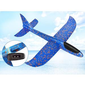 Image 5 - 48 سنتيمتر كبيرة نوعية جيدة إطلاق اليد رمي طائرة شراعية بالقصور الذاتي رغوة EPP لعب الطائرات الأطفال نموذج طائرة ألعاب ترفيهية في الهواء الطلق