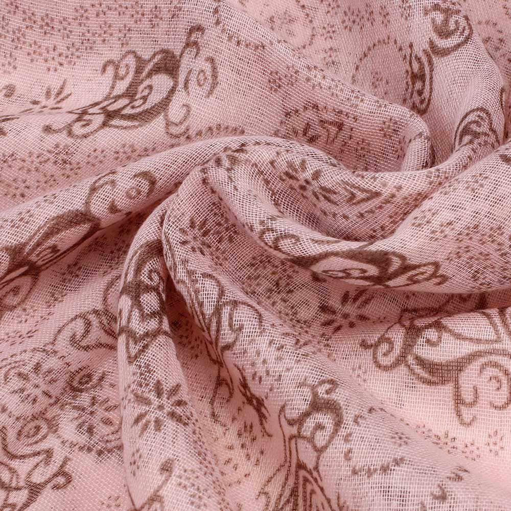 Klasyczny design szalik kobiety szalik z nadrukiem dla pani dziewczyny szyfonowa haft w kwiaty szalik hidżab Wrap pałąk panie muzułmańskie