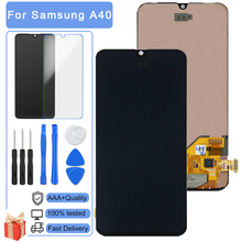 100% Test Perfect Quality LCD For Samsung Galaxy A40 A405 A405F A407 LCD Display 3D Touch Screen Digitizer Assembly Replacement