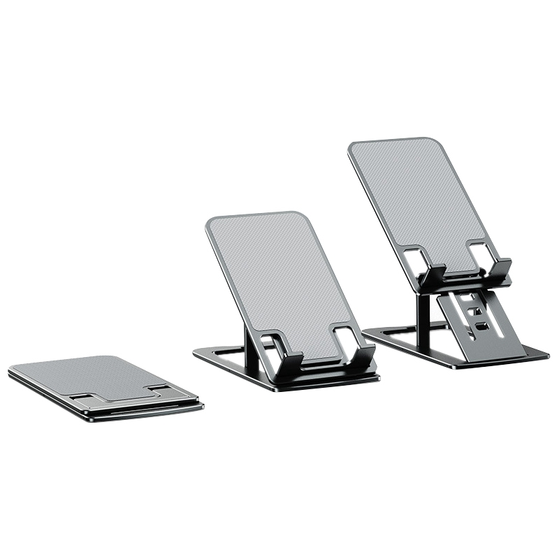 LH-0013 Mobile Phone Holder, Portable Foldable Aluminum Alloy Light and Thin Lazy Holder Suitable for Phone