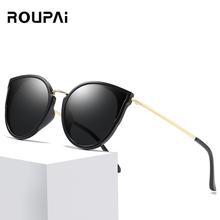 2019 New Ladies Sunglasses Brand Design Polarizer Fashion Cat Eye Outdoor Travel Driving UV400