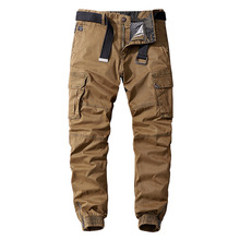 Men's Casual Cotton Military Joggers 2020 Autumn Winter Streetwear Cargo Pants Large Size Army Trousers for Men Tactical Pants