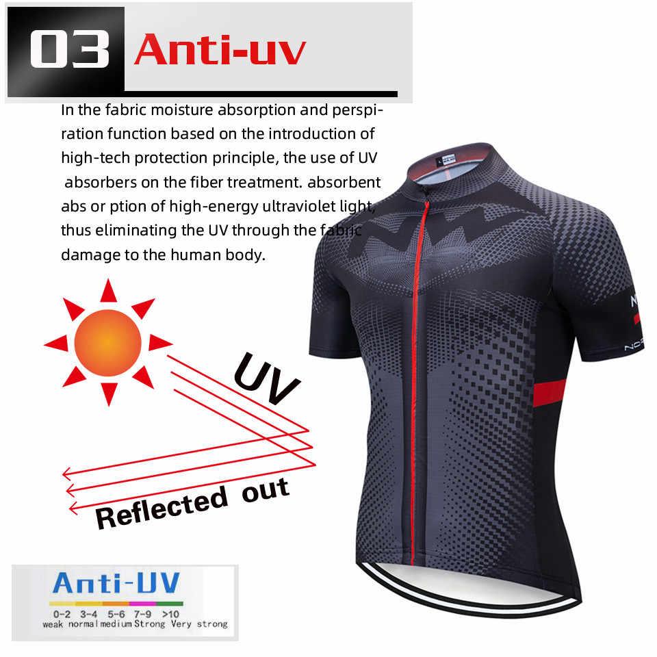 Northwave NW zestaw koszulek rowerowych letnia odzież rowerowa Maillot Ropa Ciclismo MTB odzież rowerowa strój sportowy jazda na rowerze