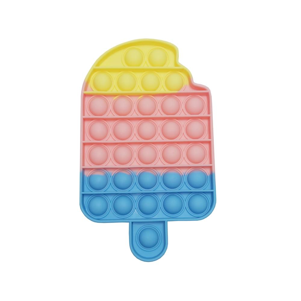 PopIts Непоседа пузырь сенсорная игрушка для аутистов потребности мягкими взрослого ребенка пуш-ап поп забавные Popit анти-стресс Reliver игрушки