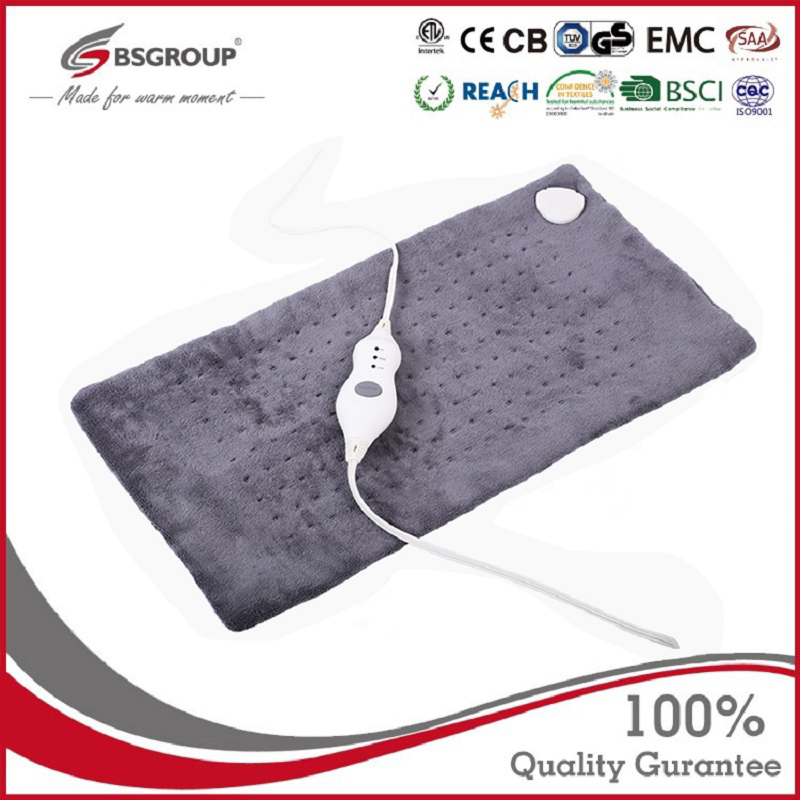 Extra Large 12*24'' 100 - 120V 85W Washable Electric Blanket Heating Pad 110V for Back Pain Relief Auto Off Body Warmer US Plug