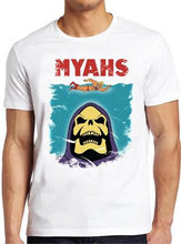 Myahs T Shirt Skeletor Jaws Pun He-Man Comic Cult 80s Funny Cool Gift Tee 164 Slim Fit Tee Shirt(China)