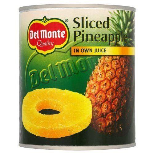 Del Monte - Ananasscheiben In Saft - 2 X 435 G