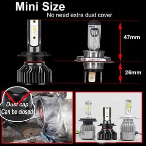 Image 3 - ZTZPIE 20000LM 60W 120W 6000K 9005/HB3 9006/HB4 H1 H8 H7 H4 H11 H9 Led Headlight Super Bright 3570 CHIP Car Fog Light Bulb 12V