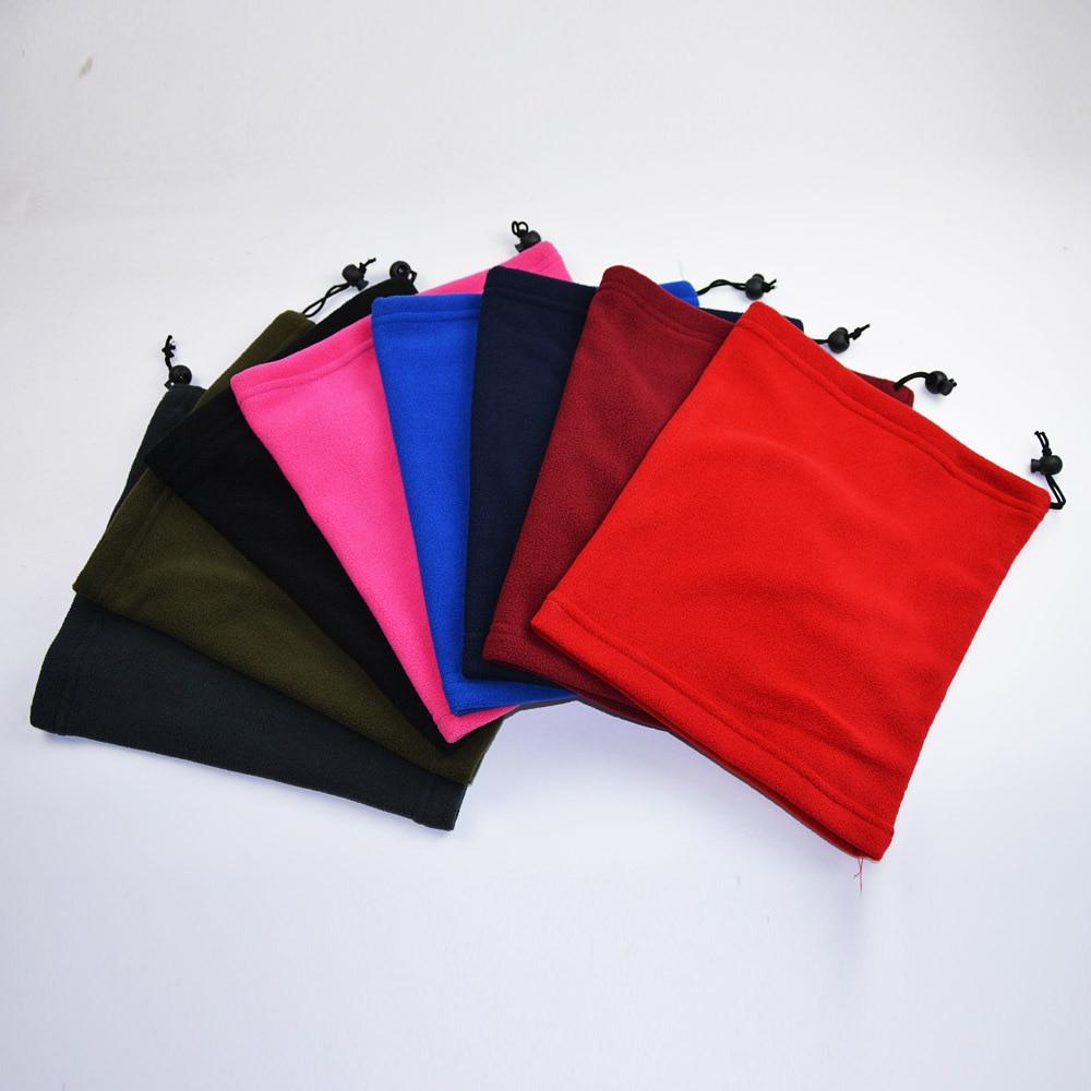 3 in 1 Multifunction Winter Neck Warmer Unisex Fleece Warmer Neck Ring Scarf Winter Hat Outdoor Sports Face Mask Scarves 3