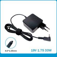 19V 1.75A 4.0*1.35mm 33W עבור ASUS Vivobook S200 S220 X200T X202E X553M Q200E X201E כוח אספקת מטען AC מתאם ADP 33AW A