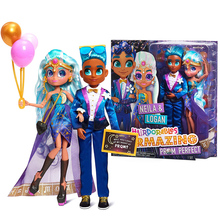 Hairdorables Hairmazing The Perfect Stylish Hairdressing Doll 2 Pieces At The Prom Doll Collectible Doll Birthday Surprise Gift