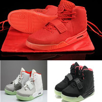Red October NRG 2 SP Men Basketball Shoes With Dust Bag Men's Sports Sneakers Glow The Dark Outdoor Athletic Trainers