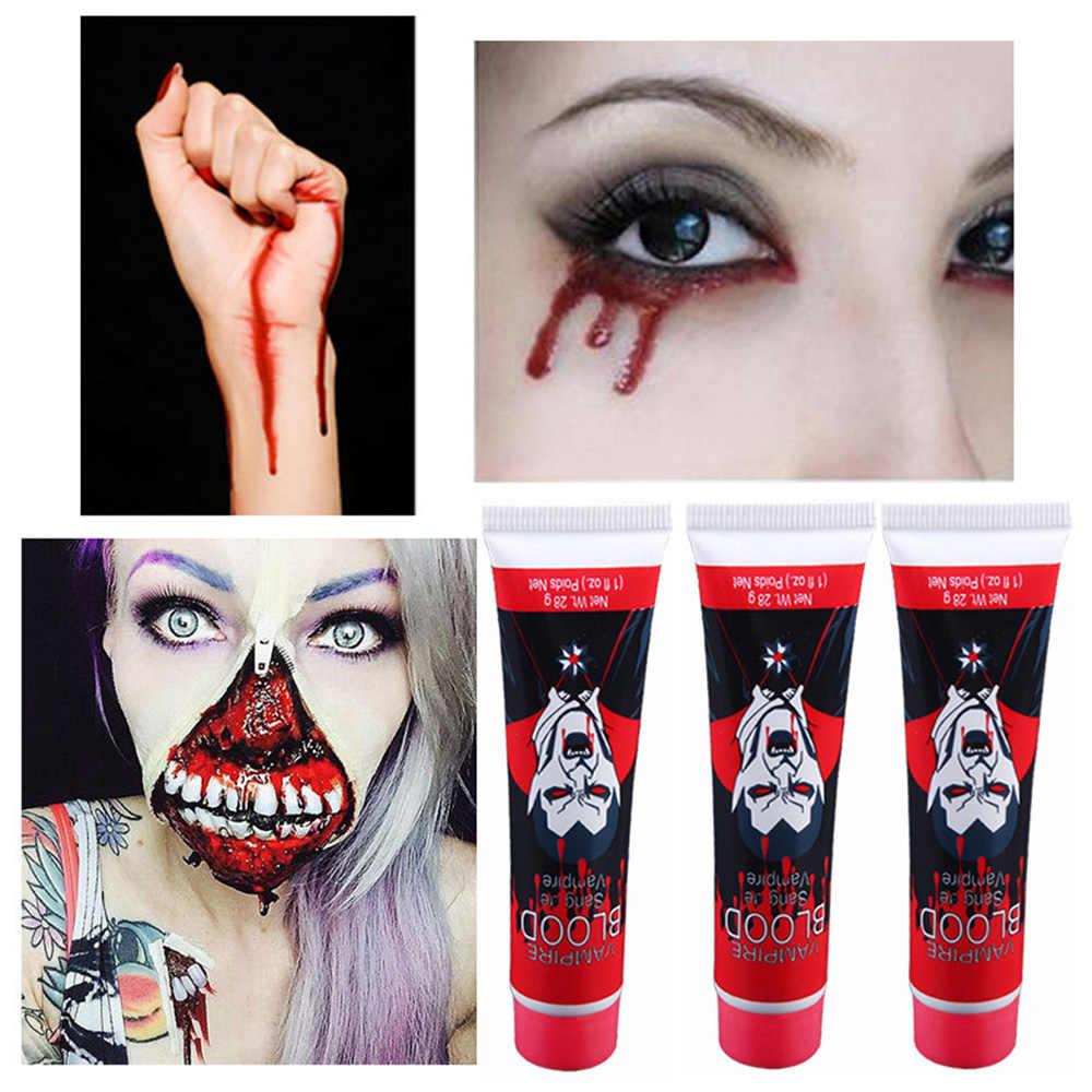 30ml Film TV Machen Zubehör Cosplay Partei Gefälschte Blut Halloween Kostüm Künstliche Party Essbare Gefälschte Blut Plasma