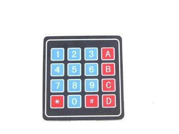 Elektronika użytkowa przełącznik membranowy klawiatura numeryczna do Arduino 4 #215 4 Matrix Array 16 Key tanie i dobre opinie KOQZM Other