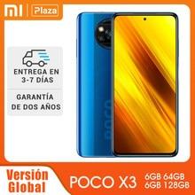 Versión Global POCO X3 6GB 128GB NFC Snapdragon 732G 120Hz DotDisplay Smartphone Xiaomi 5160mAh 33W de carga rápida 64MP Quad Camera