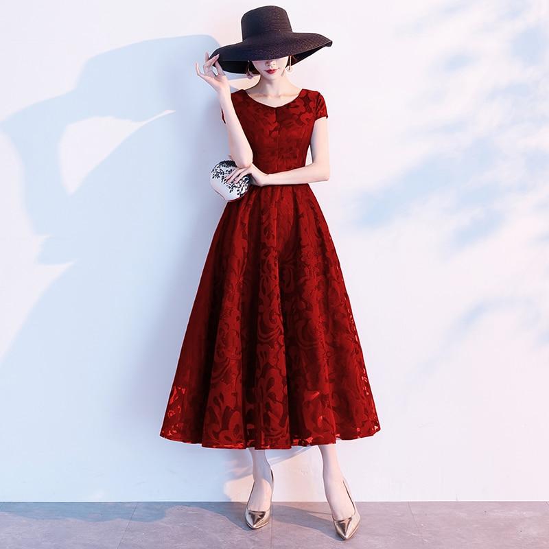 Top SaleCocktail-Gowns Lace Elegant Black Simple Short Back-Zipper New-Arrival