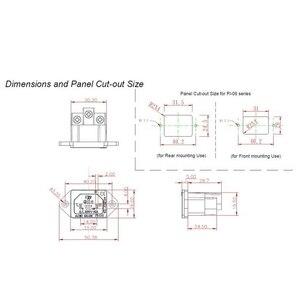 Image 5 - FURUTECH FI 06(G) Pure Copper IEC Inlet AC socket Filter HiFi with power plan socket Original packing box MATIHUR 3pcs