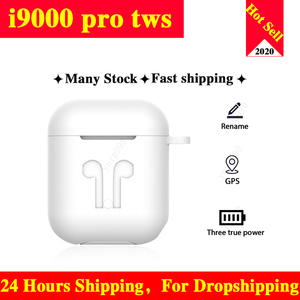 Original i9000 Pro TWS Bluetooth Earphones Mini Wireless Sport Headset Headphone Stereo Earbuds PK i12 i500 i90000 Tws Pro Elari