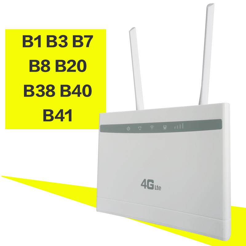 Unlocked 3g 4g LTE Modem Router 150Mbs Wifi LTE CPE Mobile Router LAN Port Support SIM Card Portable Wireless Router WiFi Router