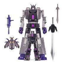 Con scatola DX9 giocattoli D 14 D14 Capone Motormaster Atilla stordimento combinatore trasformazione Action Figure robot giocattoli deformati