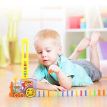 Креативный набор «домино» игрушечные строительные блоки с функцией